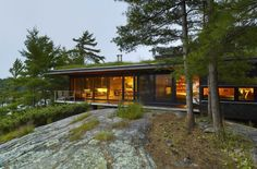 Go Home Bay Cabin by Ian MacDonald in Ontario, Canada.