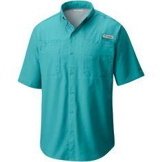 Columbia Sportswear Men's Performance Fishing Gear Tamiami II Big & Tall Short Sleeve Shirt (Aqua Or Turquoise, Size ) - Men's Outdoor Apparel, Men...
