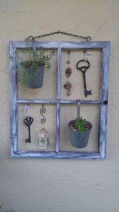 De één zijn rommel is de ander zijn schat... 10 geweldige decoratie projecten met oude ramen - Zelfmaak ideetjes