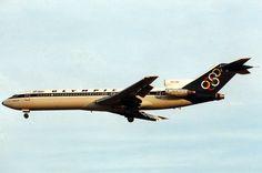 Olympic Airways B 727-284 (Mount Vermio) [SX-BCH] Boeing 727, Boeing Aircraft, Olympic Airlines, Vintage Airline, Commercial Aircraft, Air Travel, Athens, Jet Set, Airplane