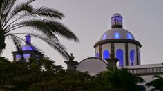 CANARIAS  FOTOS   Canary Islands Photos: Torre Iglesia Villa de Aguimes (Replica Bahia del ...