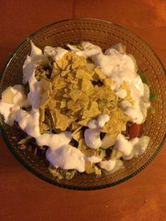 Tex mex salat