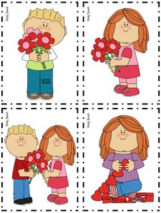 Speechie Freebies: Pack of Pronouns: Winter & Valentine's Day Edition! by Simply Speech  - repinned by @PediaStaff – Please Visit  ht.ly/63sNt for all our pediatric therapy pins