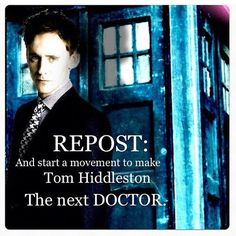 Who else think that he'd be a great Doctor?