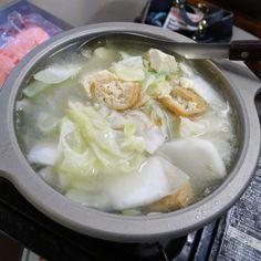 兩人份砂鍋豆腐。Hot pot with Dofu & #vegetable for 2 #food #Taiwan #instagood