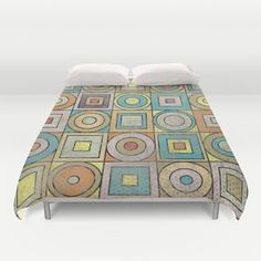 Patchwork Duvet Cover by metron - $99.00