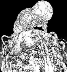 Akira Tetsuo, Tetsuo Shima, Manga Art, Manga Anime, Katsuhiro Otomo, Sketch Inspiration, Sci Fi Art, Dieselpunk, Art Plastique