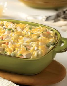 Love casseroles- It's a balanced meal... for the most part!  Chicken Casserole Recipes