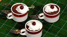 Michael Symon's Chocolate Mug Cake recipe. #thechew