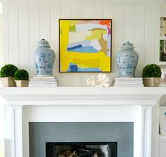 Spring Mantels and I