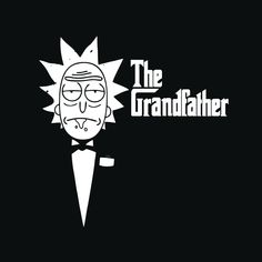 The GrandFather Rick #rickAndMorty #art