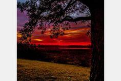 Colonial Parkway Sunset (Yorktown, Va., area)