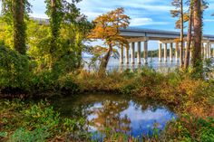 """""""Route 5 from James City County"""" by Gary Smith (featured in the Richmond Times-Dispatch on September 12, 2015). Fun Fact: This is a 2015 Virginia Vistas Photo Contest Honorable Mention winner in our special Route 5 Category. ENJOY!! #VirginiaVistas"""
