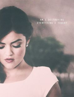 Aria Montgomery(Lucy Hale) to Byron-Pretty Little Liars