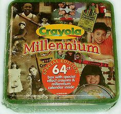 Crayola Millennium Collectible Tin With 64 Crayons ... Have in my collection