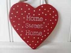 Abode — Home Sweet Home Polka Dot Heart