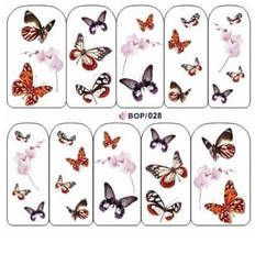 Butterfly nail art water decals for a quick and easy nail design in minutes. Sheet contains 28 butterfly decals in a range of colours and sizes as well as 6 pink blossom decals. Butterfly Nail Designs, Butterfly Nail Art, Butterfly Flowers, Nail Art Designs, Butterflies, Nail Water Decals, Nail Stickers, Nail Decals, Best Gel Nail Polish