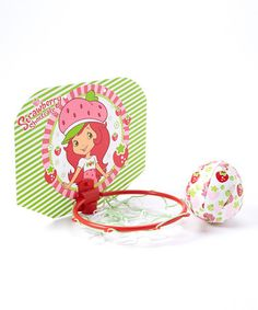 Take a look at this Strawberry Shortcake Ball & Hoop Set by Strawberry Shortcake on #zulily today!