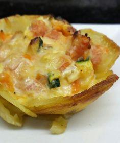 NIDOS DE PATATAS RELLENOS CBF@ Relleno, Baked Potato, Mashed Potatoes, Macaroni And Cheese, Snacks, Baking, Ethnic Recipes, Blog, Parmesan