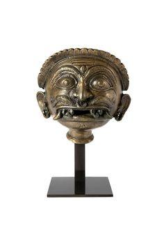 Bhairava head, India, Kerala, 18th century
