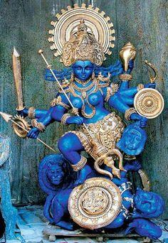 Kali, my goddess of choice. She is with me everywhere I look. www.star-monroe.com