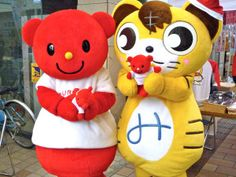 Bizbear and Mikawamaru.