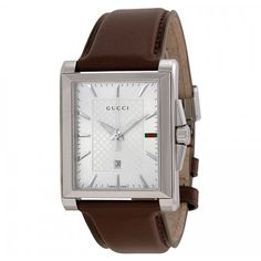Gucci Men's G- Timeless Silver Dial Brown Leather Quartz Watch Gucci Watch   Kanary eyewear #face #makeup #bridal #makeup #best #sunglasses #accessories #shop #buy #watches #watch #store #italian #handbags #bags #and #purses #cheap #leather #handbags #eyeglasses #best #sunglasses #ch #perfume #colonia #online #unique #gifts #luxury_gifts #online_luxury gifts for #women #valentines_gifts for her #birthday_gifts for him #gift_ideas for her #armani_watches #tissot_watches #gucci #watch…