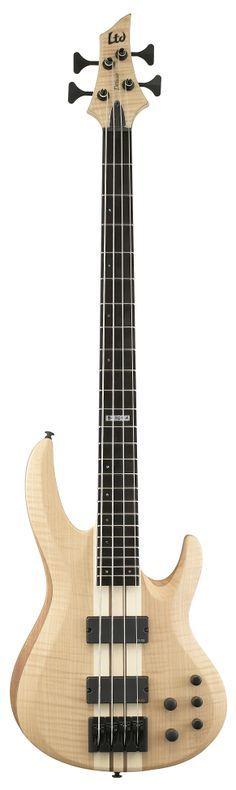 ESP LTD B-1004 B Series Bass Guitar - Natural Satin Finish