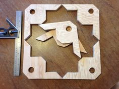 90 degree clamp jigs from scrap plywood