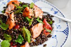 ... : Pleasing Pulses on Pinterest | Chickpeas, Salmon and Lentil Salad
