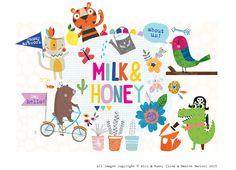 Milk & Honey Studio | Illustration and Print Design