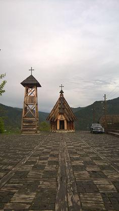 Kustendorf-Drvengrad, church, Mokra gora