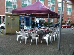 #buurtbestuurt hofstedestraat samen met de#theetuin, vorige keer ruim 60 bezoekers, vandaag?