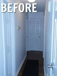 According to this homeowner this is the best way to fill up some empty space.  Narrow hallway idea Hometalk Partner