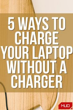 You may also be wondering if it would be safe to charge your laptop without its official charger? We'll cover this part as well, but first, let's learn how to charge it. #HowTo #Laptop #Power #LaptopCharger #Battery #BatteryLife The More You Know, Do You Know What, Alternative Search Engines, Stressed Out, Charging Cable, 5 Ways, Charger, Life Hacks, Laptop