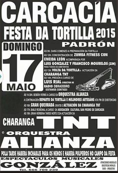 Festa da Tortilla xigante - Carcacía, Padrón (A Coruña) Mes de Maio