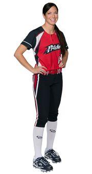 Pink Softball Uniform 22