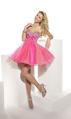 Hannah S Short Sequin Formal Dress, Sequin Party Dresses-PromGirl - StyleSays