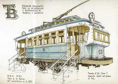60th anniversary of EMT, tram by Luis_Ruiz, via Flickr