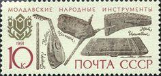 URSS 1991 Moldavia instrumentos musicales de Moldavia