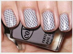 Nail Trend - Nail Stamping. I need to try this!