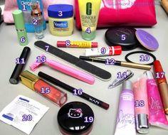 .: Makeup Bag essentials, for my purse!