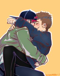 LOOK AT THIS AMAZING FANART. LOOK AT IT. IM GONNA CRY THIS IS AMAZING. I CANT. I JUST. AUGH GAY BOYS MAKE ME SO HAPPY. WHY
