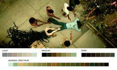 #Movie collor palletes #photography - Cidade de Deus, 2002