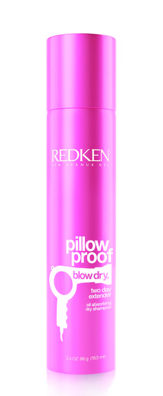 Redken Blow Dry Pillow Proof Two Day Extender oil absorbing dry shampoo 153ml.