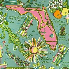 🌟Tante S!fr@ loves this📌🌟vintage-lilly-pulitzer- Vintage Florida, Old Florida, Florida Travel, Orlando Florida, Travel Usa, Florida Sunshine, Sunshine State, Lily Pullitzer, Lilly Pulitzer Prints