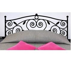 Square flower plant headboard wall decal bed room by MRIDECALS, $27.00