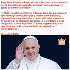Mensaje del Papa Francisco 10 de Abril 2016 https://instagram.com/p/BEBumvkiZ20/