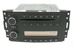 2005-2007 Buick Terraza AM FM Radio MP3 6 Disc Compact Disc Player Part 15224731