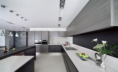 contemporary kitchen design in minimalist style